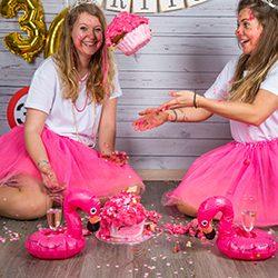 Dirty 30 Cake Smash fotoshoot